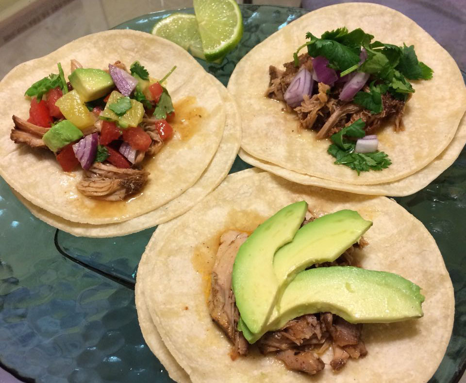 Molé Pork & Pineapple Taco Recipe by Culinarie Kit - photo by Chelsea Roque