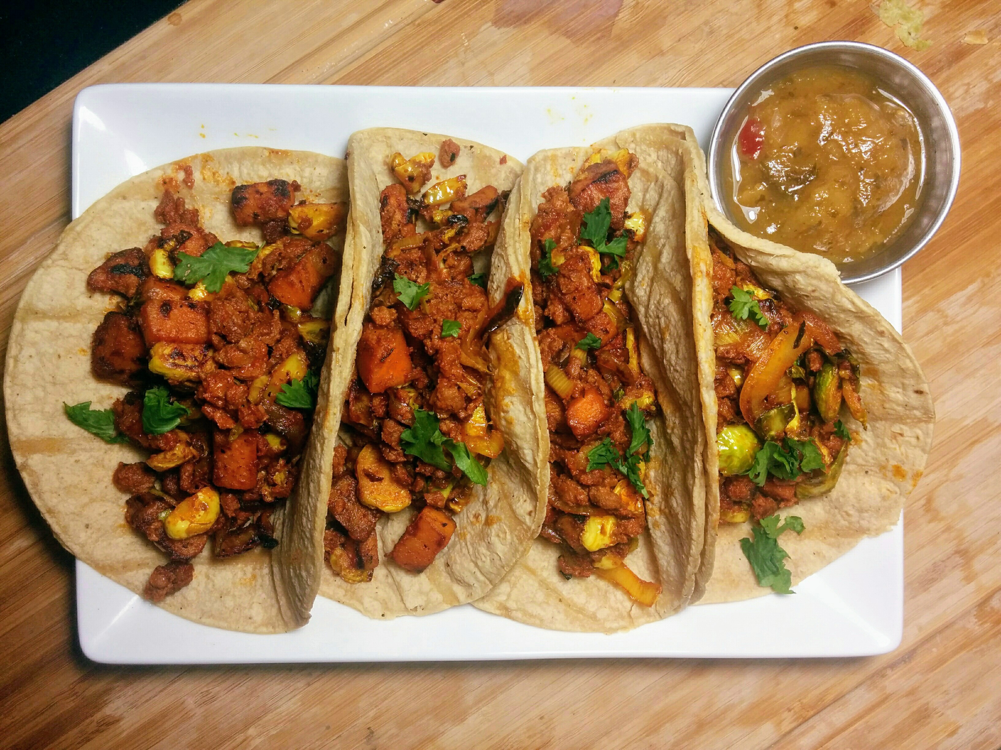 Chorizo and Veggie Taco Recipe by Culinarie Kit