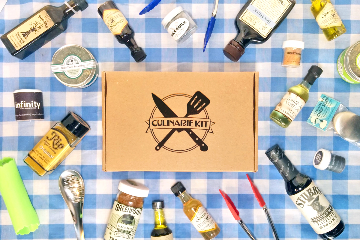 Culinarie Kit: The Cooking Subscription Box for Home Chefs