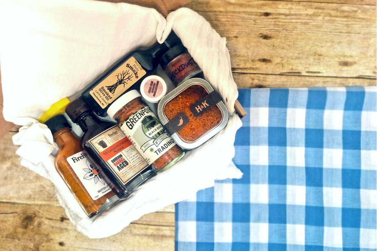 Grilling and Cooking Gift Box: Campfire Kit by Culinarie Kit