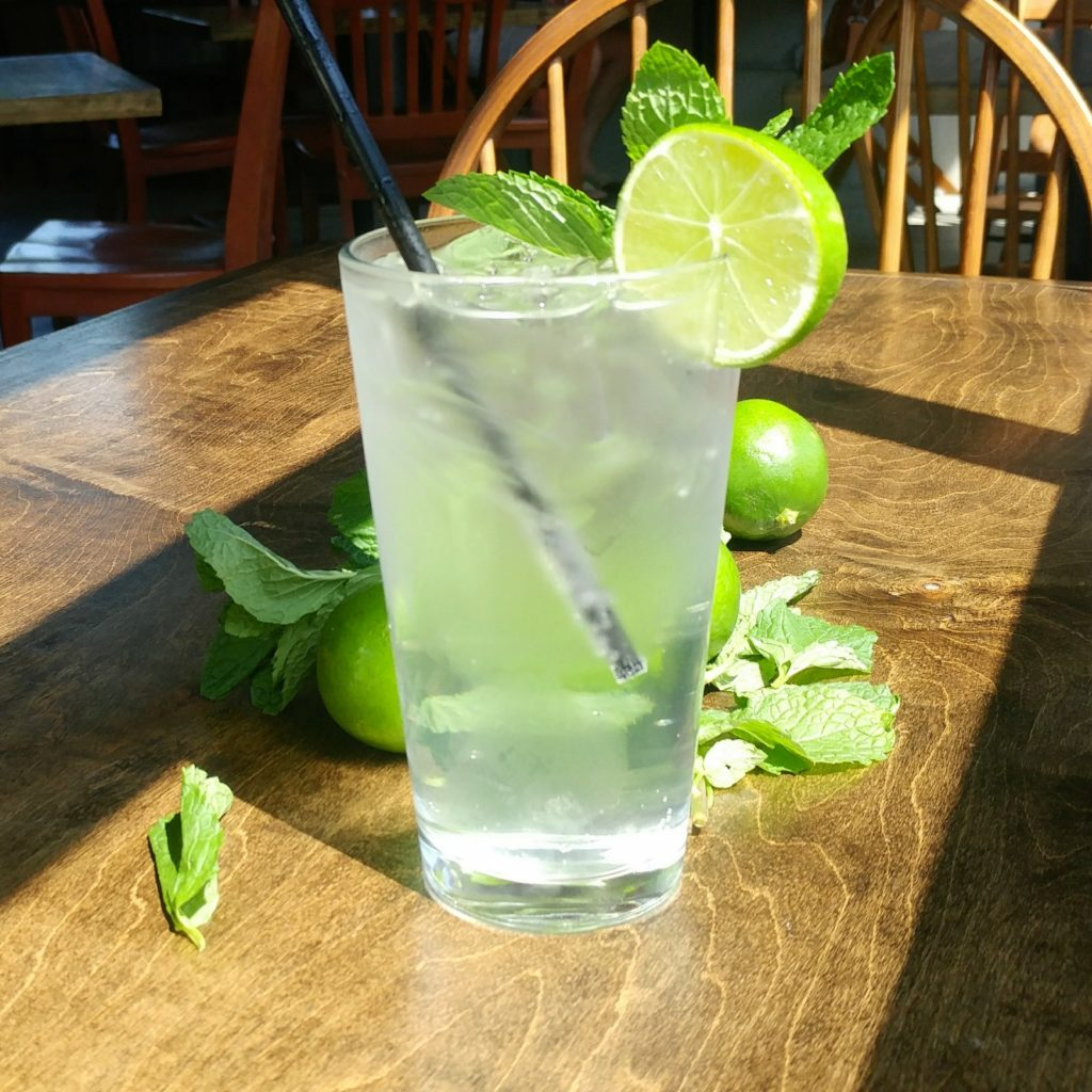 Modest Mojito - Mint Lime Simple Syrup Recipe - White Claw Cocktail Recipe